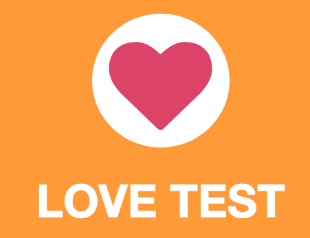 in love test